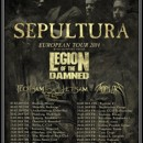 FLOTSAM AND JETSAM touring Europe in February in support of SEPULTURA!