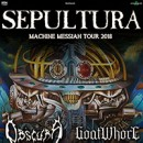 GOATWHORE announces European tour with SEPULTURA, OBSCURA and FIT FOR AN AUTOPSY!