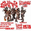 GWAR kündigen 'Scumdogs XXX Live' an! Präsentiert von Liquid Death und Metal Injection!