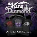 Official KING DIAMOND merchandise store and website now live!