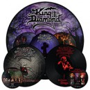 KING DIAMOND: 'In Concert 1987: Abigail', 'The Graveyard', 'The Spider's Lullabye' LP Re-issues ab sofort erhältlich via Metal Blade Records!