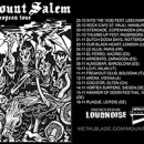 MOUNT SALEM European tour kicking off next week!