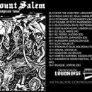 MOUNT SALEM Europatour beginnt nächste Woche!