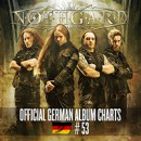 Epic melodic Death Metallers NOTHGARD enters official German album charts on position 53!