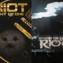 Metal Blade to re-issue RIOT albums 'Army of One' and 'Through the Storm' on September 8th on Digi-CD and vinyl!