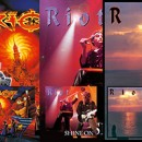 Metal Blade to re-issue RIOT albums 'Inishmore', 'Shine On' and 'Sons of Society' on June 30th on Digi-CD and vinyl!