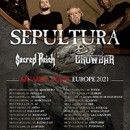 Sacred Reich announces European tour in support of Sepultura for November next year!