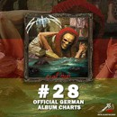 English NWOBHM legends SATAN enters official German charts with new album 'Cruel Magic' on position 28!
