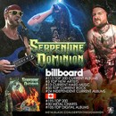 SERPENTINE DOMINION debuts on North American charts for new self-titled album!