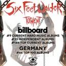 SIX FEET UNDER entern die weltweiten Charts mit ihrem neuen Album 'Torment'!