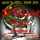 SIX FEET UNDER to embark on 'X-Mas In Hell Tour 2014′ in Germany in December!