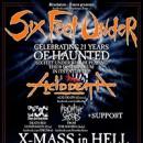 SIX FEET UNDER feiern 21 Jahre der Veröffentlichung von 'Haunted'