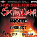 SIX FEET UNDER announces European 'Xmas In Hell Tour' for December!