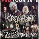 Die schwedischen Punk, Sleaze and Metal Bastarde SISTER supporten CRASHDIET jetzt auch in Skandinavien!