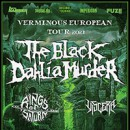 The Black Dahlia Murder kündigen 'Verminous European Tour 2021′ an!