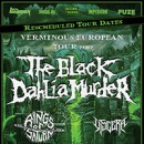 The Black Dahlia Murder announces rescheduled 'Verminous European Tour' for 2022!