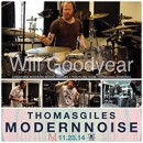 THOMAS GILES launcht 'Modern Noise' Studiovideo Teil 1!