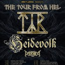 "TYR announces full European ""The Tour From Hel"" for April 2019!"