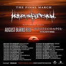 WHITECHAPEL announces 'The Final March' European tour in support of Heaven Shall Burn!