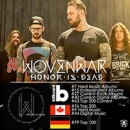WOVENWAR lands on worldwide charts for new album, 'Honor Is Dead'!