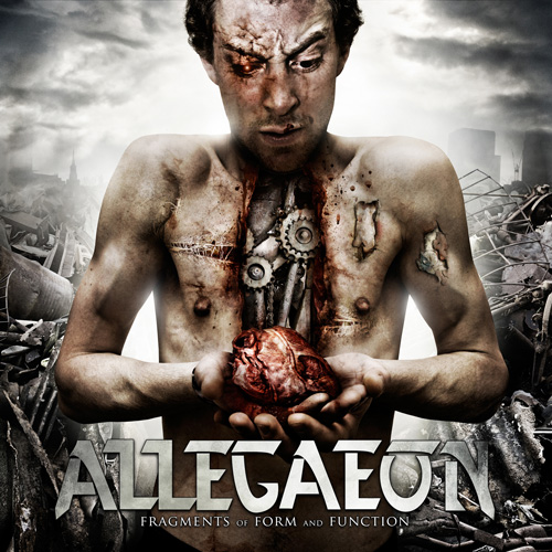 """Allegaeon """"Fragments of Form and Function""""   Metal Blade Records"""