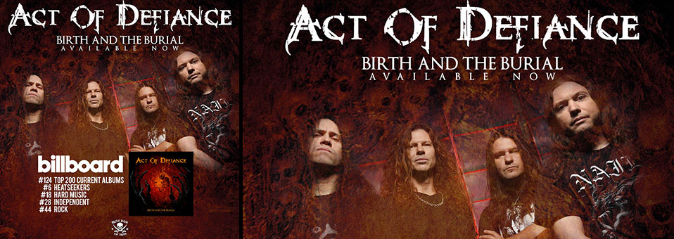 ACT OF DEFIANCE Makes Billboard Top 200 Chart Debut