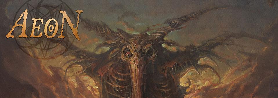"""Aeon: Die schwedischen Death Metal Veteranen mit Albumpremiere zu """"God Ends Here"""" einen Tag vor Veröffentlichung!"""
