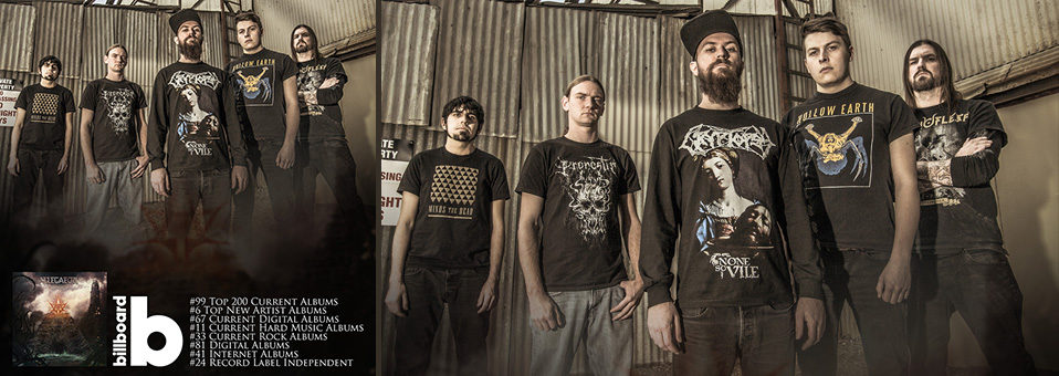 Allegaeon debuts on music charts for new album, 'Proponent for Sentience'