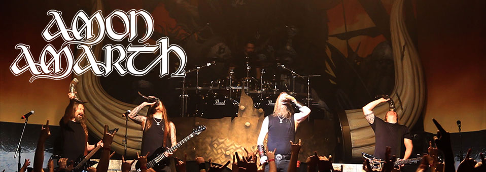 "Amon Amarth invites fans to ""Raise Your Horns"" for new music video"