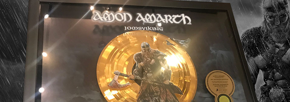 Amon Amarth celebrate 'Week of Gold', earns Gold certification in Germany for 2016′s 'Jomsviking'