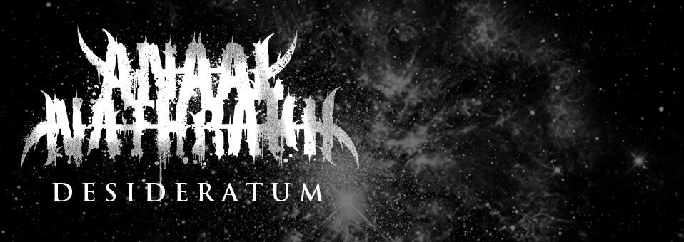 ANAAL NATHRAKH's Desideratum Full-Length Drops NOW In North America via Metal Blade Records