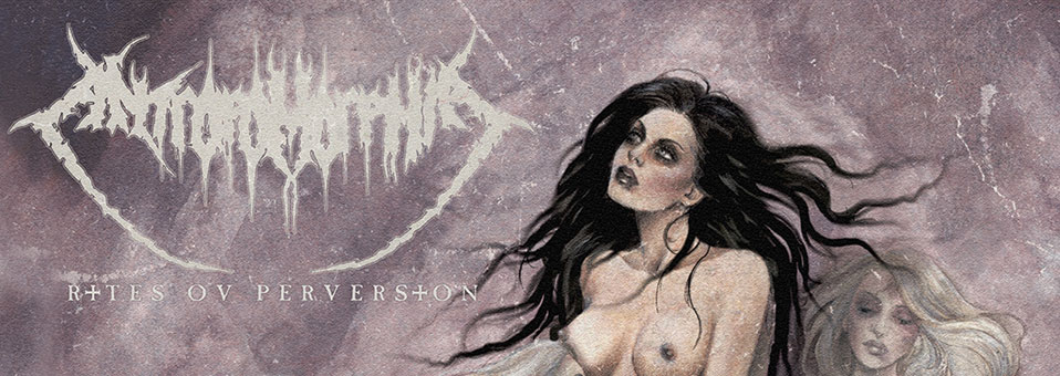 Antropomorphia armed and ready to release new album 'Rites Ov Perversion'!