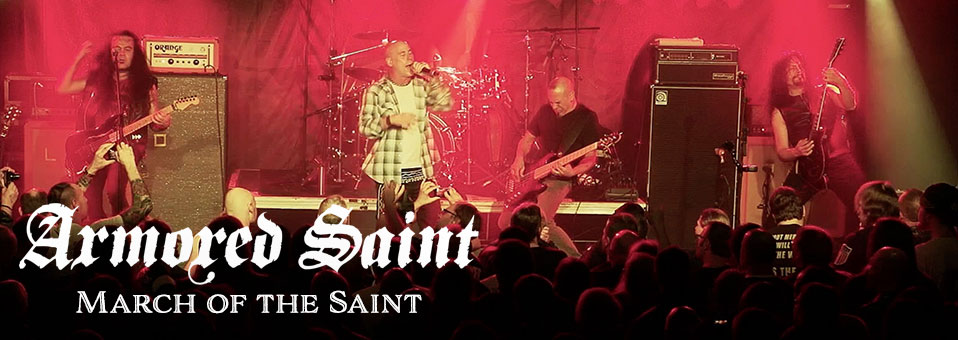 "Armored Saint launches ""March of the Saint (Live)"" video online"