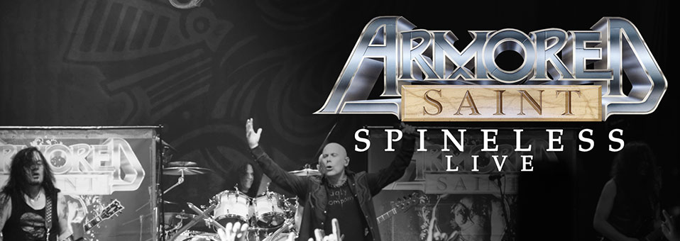 """Armored Saint releases new CD/DVD, 'Symbol of Salvation Live', worldwide; launches live video for """"Spineless"""""""