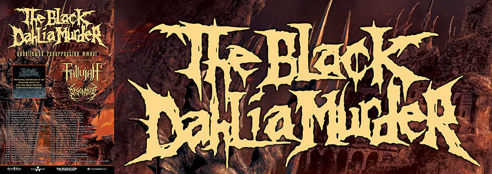 The Black Dahlia Murder announces USA tour with Fallujah and Disentomb