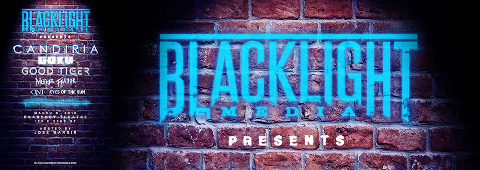 Blacklight Media Records announces its very first label showcase (hosted by Jose Mangin) in New York City