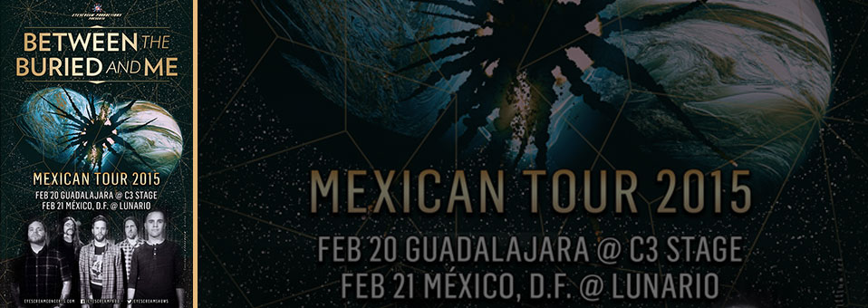 Between the Buried and Me confirm shows in Mexico!