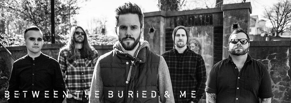 """Between the Buried and Me Premiere Exclusive Clip from """"Making of Coma Ecliptic"""" DVD on Billboard!"""