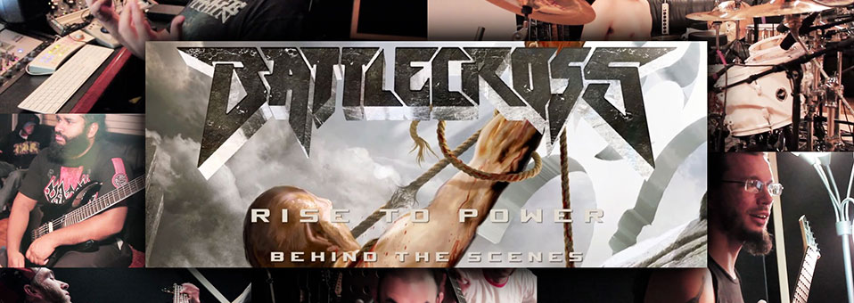 "BATTLECROSS Launches ""Minisode"" Series From ""Rise To Power"" Recording Session"