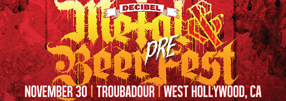 Armored Saint, Night Demon, Uada and Persekutor announced for Decibel Metal and Beer Fest: Los Angeles Pre-Fest