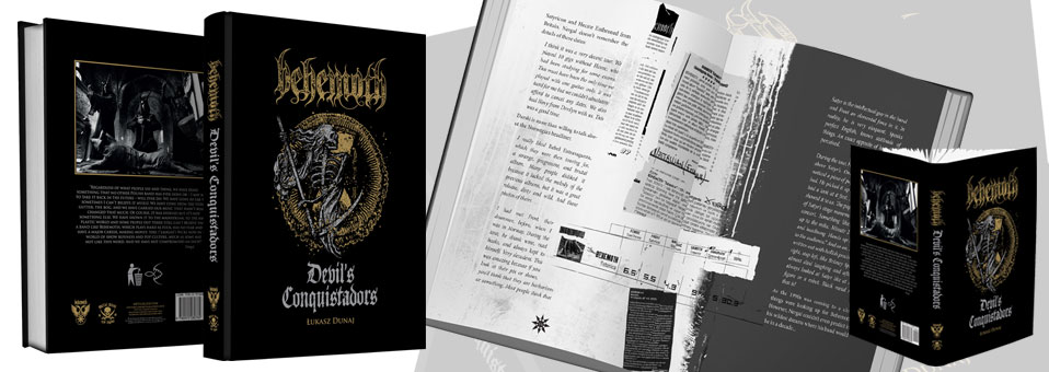 Behemoth to release official biography on Metal Blade Records