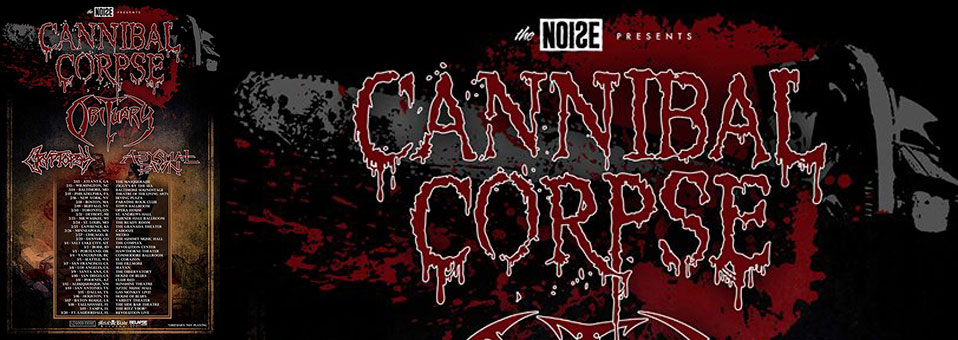 Cannibal Corpse re-issues classic albums on vinyl