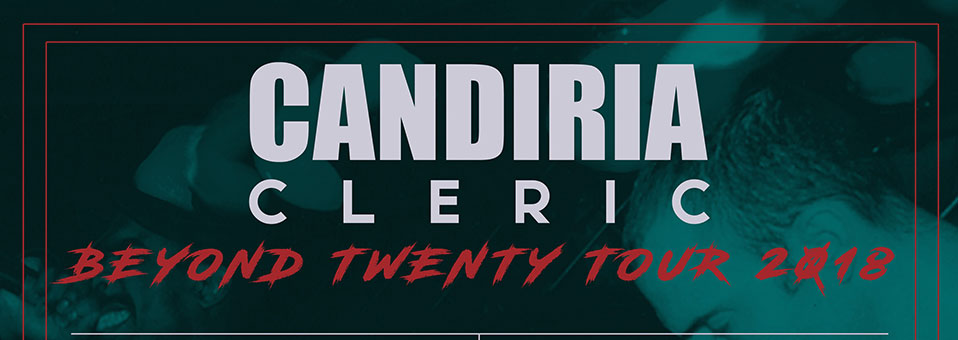 "Candiria announce ""Beyond Reasonable Doubt"" 20th Anniversary Tour"