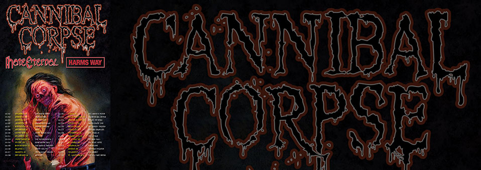 Cannibal Corpse announces USA tour with Hate Eternal, Harm's Way
