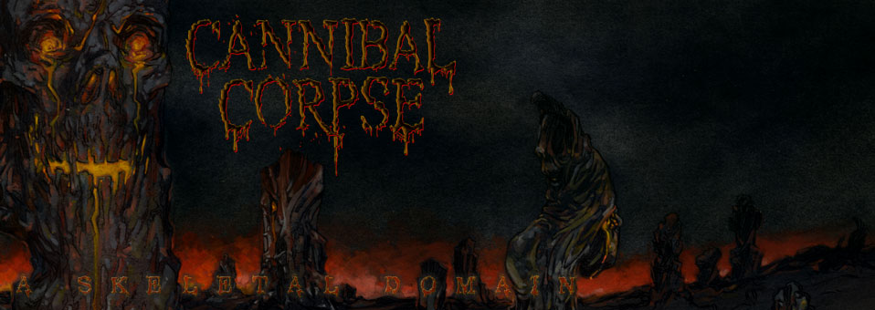 CANNIBAL CORPSE: American Death Metal Icons To Release A Skeletal Domain