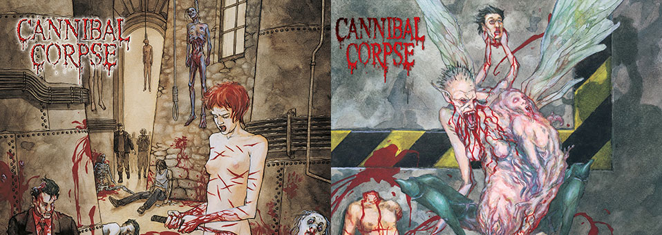 Cannibal Corpse: 'Bloodthirst', 'Gallery of Suicide' LP re-issues now available via Metal Blade Records