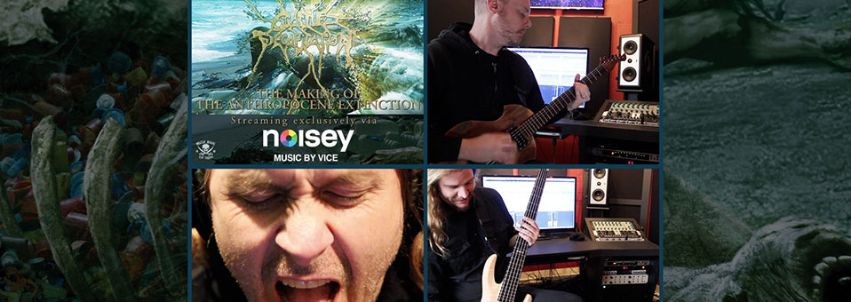 "CATTLE DECAPITATION Reveals The Anthropocene Extinction ""Making Of"" Documentary Via Noisey"