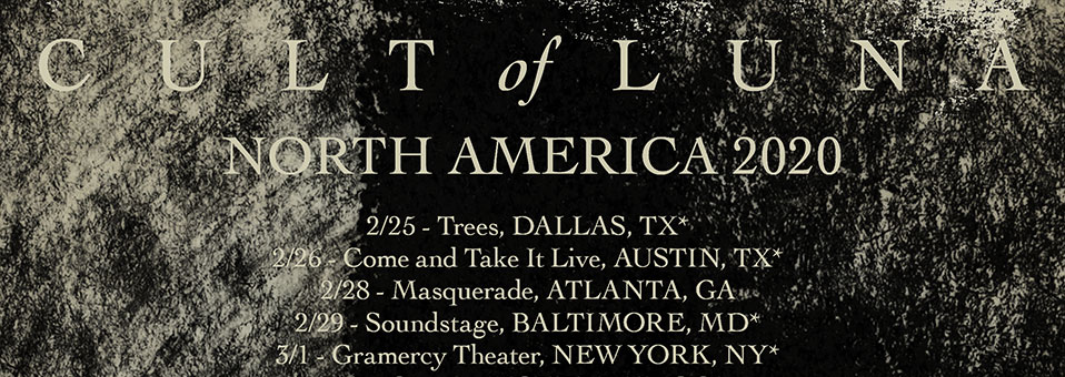 Cult Of Luna announces North American tour with Emma Ruth Rundle, Intronaut