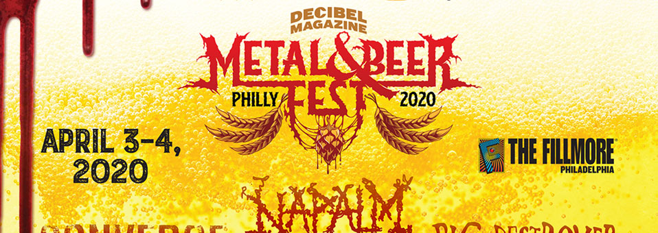 Midnight, Gatecreeper, Necrot added to final lineup of Decibel Magazine Metal & Beer Fest: Philly 2020