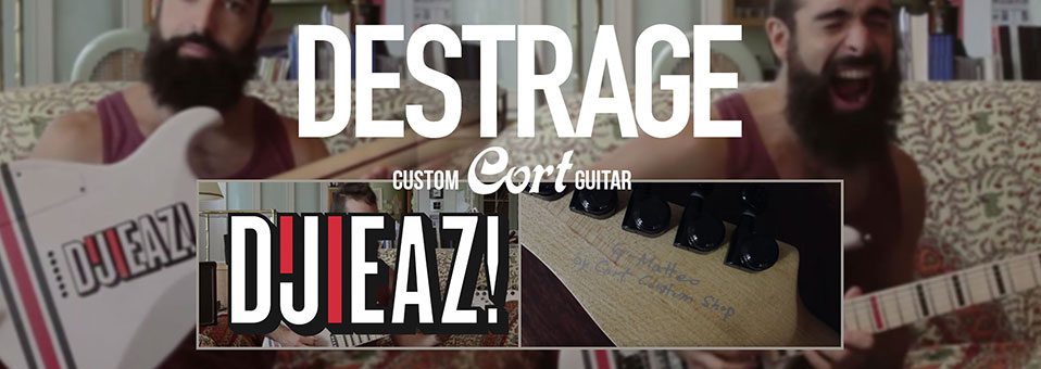 Destrage release video to showcase new custom Cort guitar